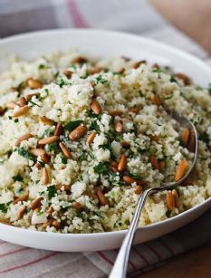 Couscous With Toasted Pine Nuts