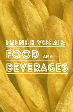 French Vocabulary: Food and Drink