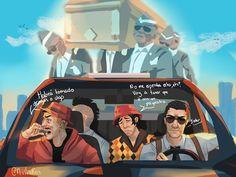 Mafia, Minecraft, Fandoms, Fanart, Grand Theft Auto, Spain, Comics, Anime, Streamers