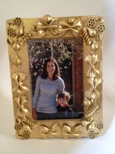 Close to Home: DIY Earth Day Craft or Homemade Mothers Day Gift--Noodle Frame