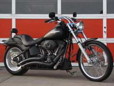Harley Night Train, Blacked Out. My ass would look fabulous on the back of this.