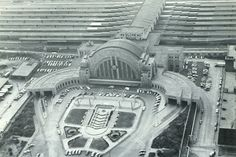 Union Terminal Cincinnati, OH......Grandpa was stationed on the troop trains during WWII here