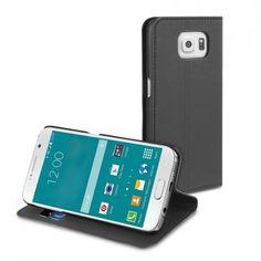 Funda Samsung Galaxy S6 Muvit Wallet Folio Negra 14,99 €