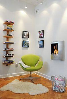 25 Fotos e ideas para crear un rincón de lectura en casa. | Mil ideas de decoración