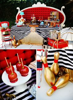 Retro Circus Baby Shower {The Amazing Expanding Woman} // Hostess with the Mostess®