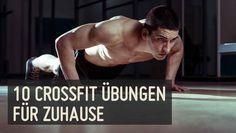Dir fehlen die Zeit oder die Möglichkeiten in einer CrossFit Box zu trainieren? Macht nichts, denn wir haben die 10 besten CrossFit Übungen für Zuhause!