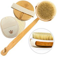 The Earth Essence Total #Body Bath Brush is an ideal bath or shower companion. Use it every day to support your ultimate health and beauty. The bath brushes long...