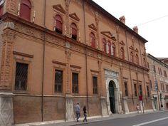 Facciata di Palazzo Magnanini, Ferrara (FE), Italy