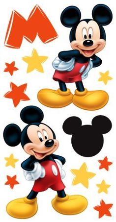 Disney's Mickey Mouse Large Essentials Embellishment by Sandylion Minnie Mouse Images, Mickey Mouse Pictures, Mickey Mouse Art, Mickey Mouse And Friends, Mickey Mouse Birthday Decorations, Mickey Birthday, 1st Boy Birthday, Mickey Mouse Wallpaper Iphone, Cute Disney Wallpaper