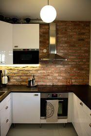 Brick Back Splash Backsplash, Brick, Sweet Home, Kitchen Cabinets, Diy Crafts, Interior, House, Kitchen Ideas, Home Decor