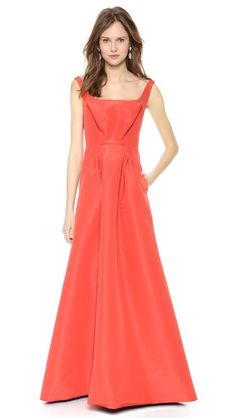Zac Posen | Sleeveless Silk Faille Gown ($5,990)