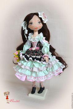 Купить Виорика. Большая текстильная кукла. - кукла, кукла в подарок, бохо, бохо стиль