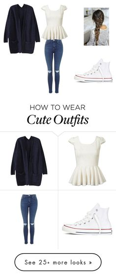 """LA Outfit # 3"" by calybug21 on Polyvore featuring Converse"