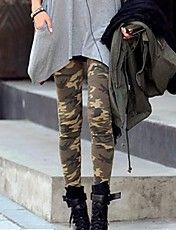 Women's Fashion Sexy Beige Camouflage Clothin... – USD $ 5.59
