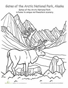 celebrate national parks with these inspiring coloring pages and remember to get out and enjoy