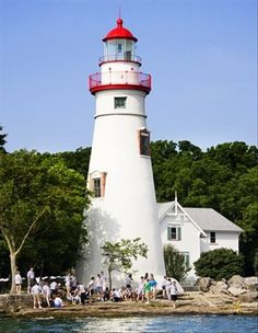 Marblehead Lighthouse, Sandusky Bay, Ohio - Dump A Day