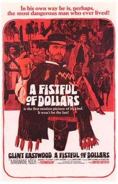 Movie Posters: A Fistful of Dollars