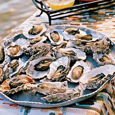 Grilled Oysters | Coastalliving.com