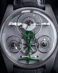 Emmanuel Bouchet - Complication One a watch i will never own as it is a mere 115,000 - Nice to look at though!