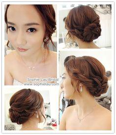 wedding hair korean - Google keresés
