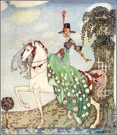 kay nielsen   Dessins, illustrations, peintures de fées, elfes lutins : Kay Nielsen