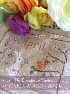 JOYFUL WORLD - APRIL PATTERN:-)