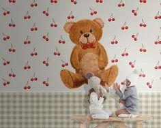 Carta da parati LONDONART | Collezione KIDS | Teddy