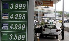 ...  ► Gasolina mais barata pode ajudar a levar inflação à meta em 2017.../Pela primeira vez em sete ...