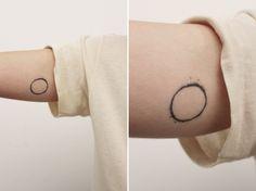 tatuajes elegantes eclipse