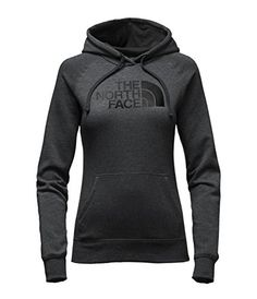 The North Face Half Dome Hoodie Womens TNF Dark Grey HeatherTNF Black Medium -- Read more reviews of the product by visiting the link on the image.