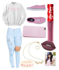 """""""Melanie Martinez outfit"""" by malrocks2003 ❤ liked on Polyvore featuring Vans and Lime Crime"""