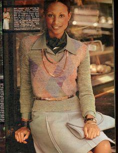 Cheryl Tiegs, Beverly Johnson, Seventeen Magazine, Glamour Magazine, Retro Hairstyles, Cover Model, Vintage Glamour, Fall Looks, 1970s