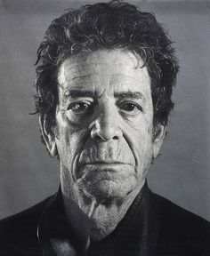 Lou Reed by Chuck Close