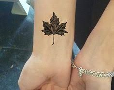 autumn tattoo leaf small - Google Search