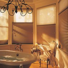 Hunter Douglas Duette Honeycomb Shades from #mitsblinds