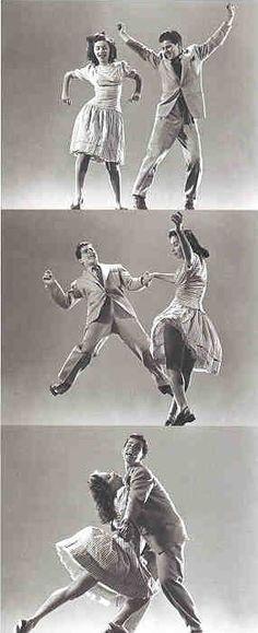 Origine des danses jazz swing
