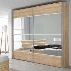 1000 ideas about porte coulissante miroir on pinterest placard sur mesure - Porte armoire coulissante miroir ...
