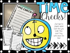 """Bless whoever shared this idea on social media! It is not my original idea! But if your kids are struggling to read analog clocks like mine were, this is for you! Just print, tape one to each kid's desk, and randomly holler """"Time Check!"""" throughout the day."""