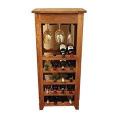 Prairie Series Wine Rack Woodworking Plan