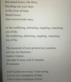 Time, as a symptom lyrics. Joanna newsom