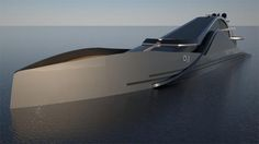 Onde 300, futuristic yacht, Federico Pacini, yacht, watercraft, Mega Yacht, future vehicle, future yacht, luxury yacht
