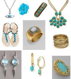 Modern Turquoise Jewelry