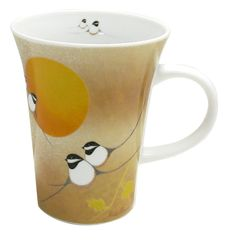 'Chickadee' Porcelain Mug