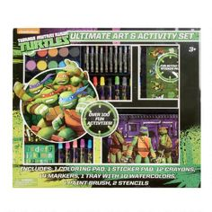 One of my favorite discoveries at ChristmasTreeShops.com: Teenage Mutant Ninja Turtles Ultimate Art