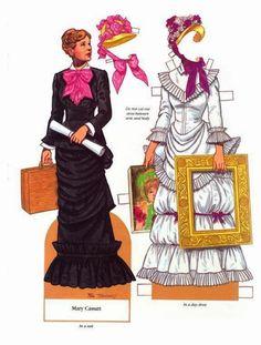 Notable American Women paper dolls - Onofer-Köteles Zsuzsánna - Picasa Webalbum
