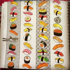 """#AstaColoring #coloringandthefood #bữatiệcsắcmàu #jeongaahpark #nhãnambooks"""