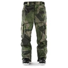 Thirty Two Blahzay Camo Snowboard Pants Camo 2015 - £169.95