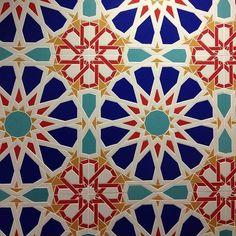 Moroccon Geometric pattern tile