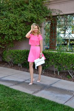 Pink Dress |Summer Style| glamlifeliving.com