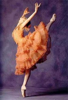 Paloma Herrera--I saw her dance Kitri many years ago. It was a pure joy